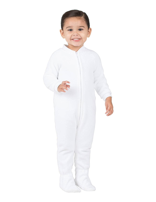 bcba18faabcd Fleece Footed Pajamas For Boys