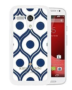 Unique Designed Kate Spade Cover Case For Motorola Moto G White Phone Case 97