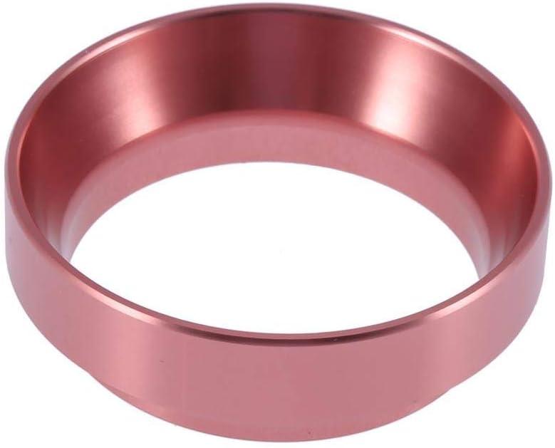 Black Coffee Dosing Ring Aluminum Espresso Dosing Funnel Replacement Tool for 58mm Portafilters