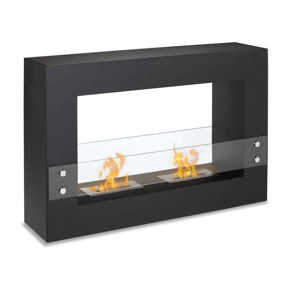amazon com ignis tectum freestanding ventless ethanol fireplace