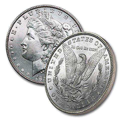 1887 P Morgan Silver Dollar $1 Brilliant Uncirculated - Morgan Uncirculated Dollar