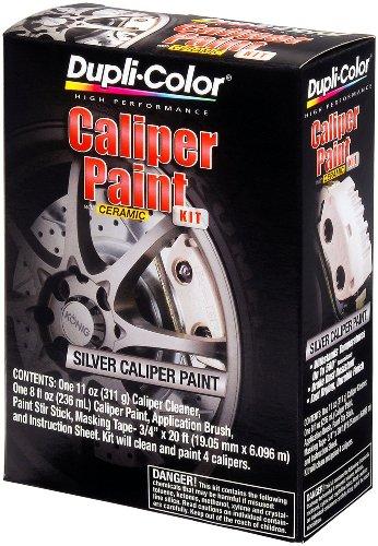 Dupli-Color BCP403 Silver Brake Caliper Kit (Paint Drum Brakes)