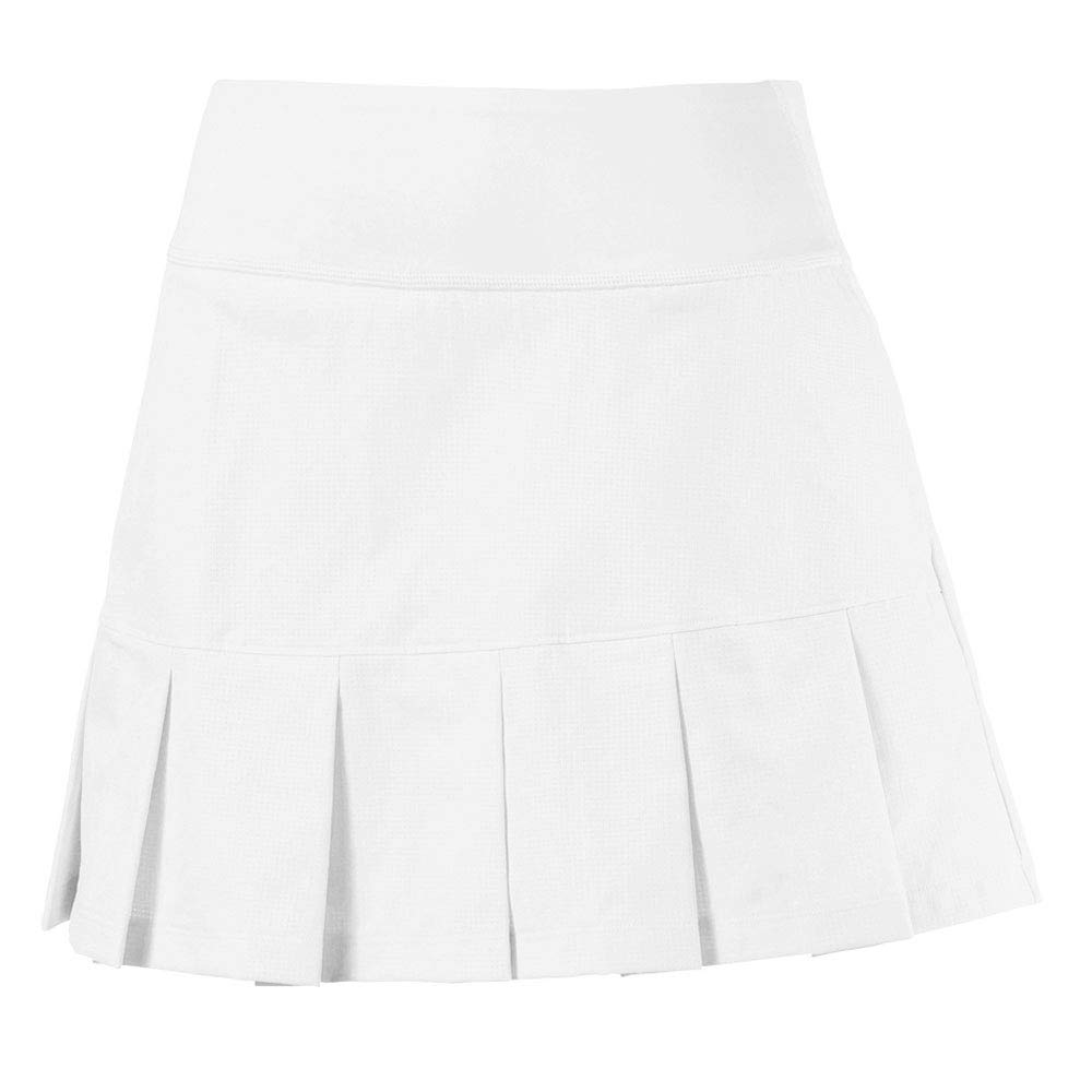 Puma Golf Women's 2019 Pwrshape On Repleat Skirt, Bright White, Small