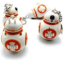 Star Wars BB-8 BB8 Figure Keychain Keyring Toy Droid Robot Figure Gift