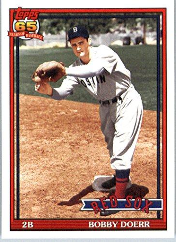 2016 Topps Archives #251 Bobby Doerr Boston Red Sox Baseball Card