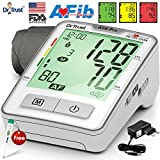 Dr Trust (USA) Atrial Fibrillation STROKE PREVENTION Professional Series - Automatic digital Blood Pressure Testing Monitor BP Machine - ( includes Adapter, Carry Bag, Batteries, Thermometer )