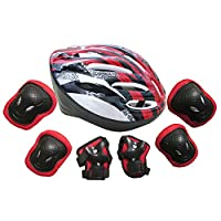 Topfire BMX Bike Hand-Knie, Ellenbogen Pads und Gel Pads Schutz: Skateboard,...
