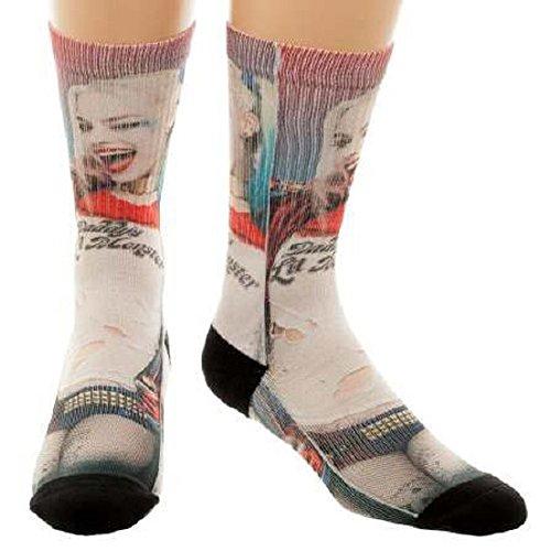Harley Quinn Socks - DC Comics Suicide Squad Harley Quinn