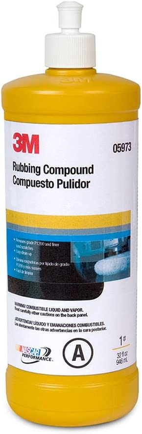 3M 05973 Rubbing Compound - 1 Quart