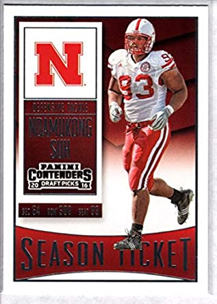 premium selection 39d0e bac33 Amazon.com: 2016 Contenders Draft Picks Football Season ...