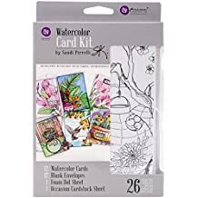 Prima Marketing 655350589943 SP Watercolor Card Kit