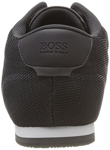 Lighter BOSS Schwarz Black Mesh Lowp Herren Sneaker 001 pxrqxX6w5