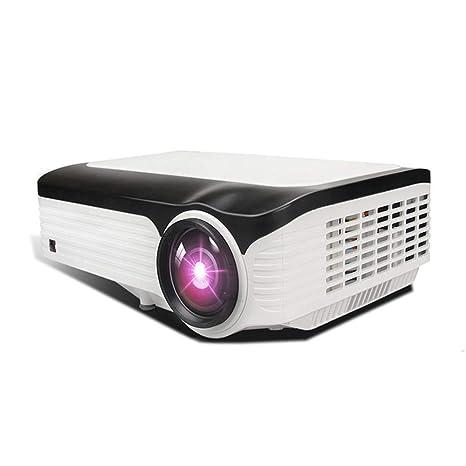 AMY Proyector 1080P Lúmenes, Proyector De Cine En Casa con WiFi Y ...