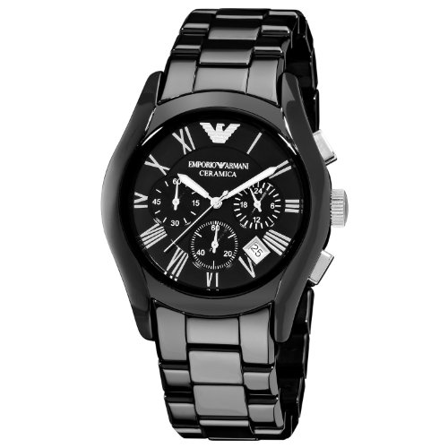 Men's Emporio Armani AR1400 Ceramic Chronograph Watch