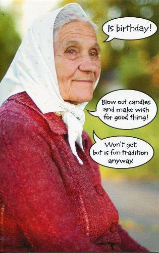 Greeting Card Birthday Humor