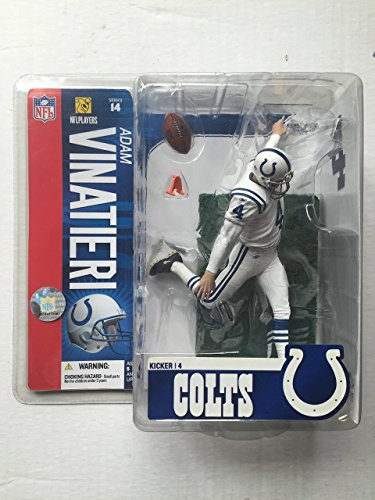 McFarlane Toys NFL Sports Picks Series 14 Action Figure Adam Vinatieri (India... by Unknown Mcfarlane Nfl Picks