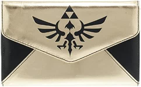 Legend of Zelda Triforce Logo Envelope Wallet