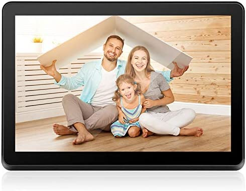Digital Picture Frame 10 inch WiFi Electronic Photo Frame IPS Touch Screen HD Display, Share Moments Instantly iOS and Android App or E-Mail, 8GB Storage and Remote Control