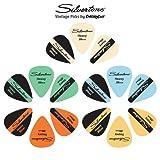 Silvertone Vintage Guitar Picks 15-Pack. Heavy Gauge (0.88mm)