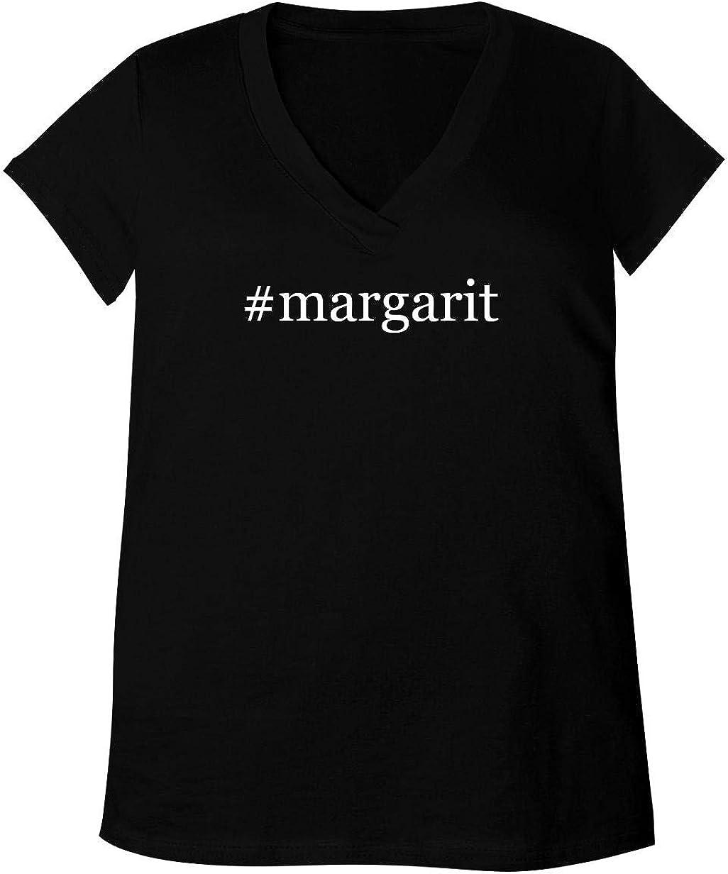 #Margarit - Adult Bella + Canvas B6035 Women's V-Neck T-Shirt 51XqPsKRRuL