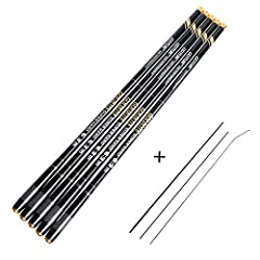 Carbon fiber inside the rod is uniform in texture with excellent water repellency, for strong bearing capacity and good elasticity.