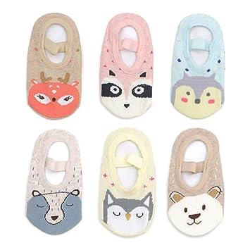 Amazon.com: Yenzat - Calcetines antideslizantes para bebé y ...