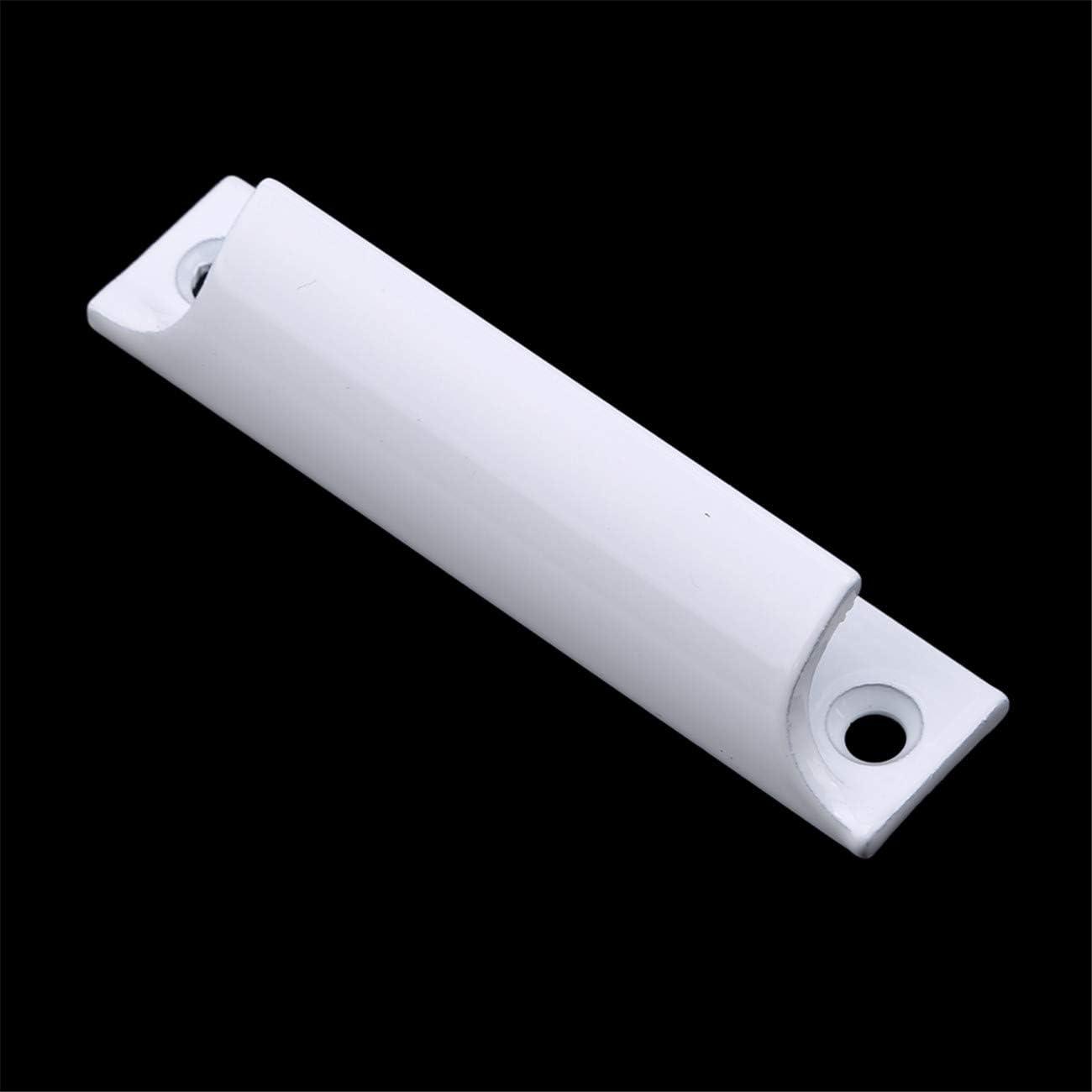 Wei/ß Bigsweety Aluminiumlegierung Schiebet/ür Griff T/ür K/üche Schrank Schrank Schublade Toilette Zugknopf