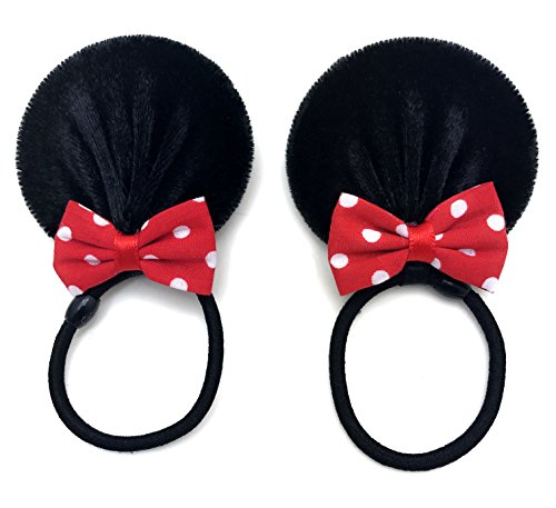 Price comparison product image Disney Mickey Mouse Ears Baby Elastic Headband Costume Accessory :M3 (Band 6 cm)