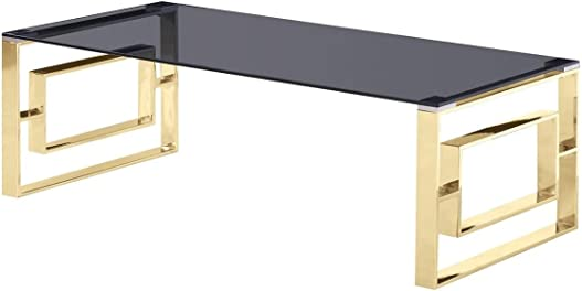Best Master Furniture E28 Coffee Table Gold