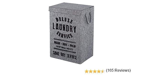 FERIDRAS Rodi lavandería, Gris, 30 x 40 x 60 cm: Amazon.es: Hogar