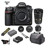 Nikon D850 DSLR Camera (Body) - Kit with Nikon AF-S NIKKOR 24-70mm f/2.8G ED Lens + More - International Model