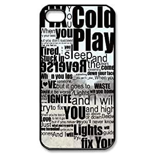 Cold Play CUSTOM Case Cover for iPhone 4,4S LMc-47753 at LaiMc