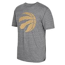 adidas AL9879 Triblend Short Sleeve Tee NBA Toronto Raptors