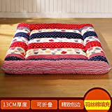 SL&CL Thicked Tatami Mattress,Plain Print Mattress Student Dormitory Single Double Bed mat 1.5m Quilted Foldable Cushion mats-J 90x200cm(35x79inch)