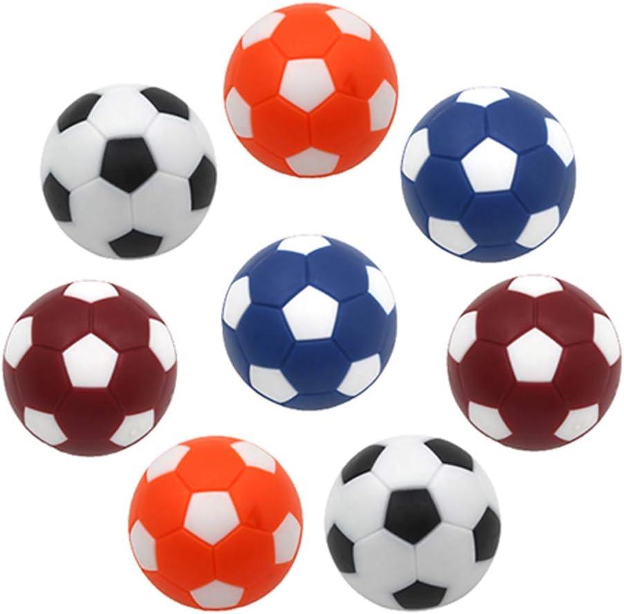Futbolines,8 Pcs Futbolín Bolas Foosball de Recambio Mini ...