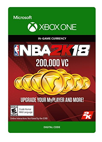NBA 2K18: 200,000 VC – Xbox One [Digital Code]
