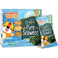 Hungry Tiger - Organic Pure Seaweed (No Oil, No Salt) 20g