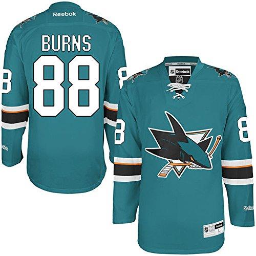 NHL San Jose Sharks 88 Brent Burns Men's Premier Jersey Teal color Size XXL