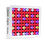 LED Grow Light 900W High PAR Value Hydroponics System Lighting, Full Spectrum for Indoor Plants Veg and Flower Growing