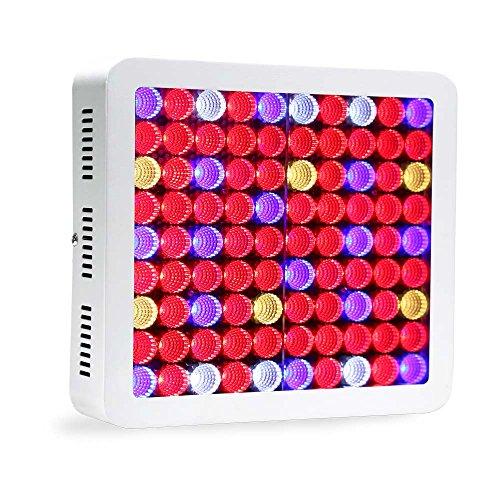 LED Grow Light 900W High PAR Value Hydroponics System Lighting, Full Spectrum for Indoor Plants Veg and Flower Growing