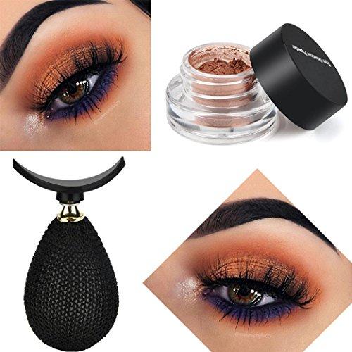 Instant Eyeshadow Stamp Crease ,Vanvler Lazy Silicone Eye Shadow Applicator Set (C)