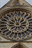 A View of the Rosette Window in the York Minster Cathedral England Journal: 150 Page Lined Notebook/Diary