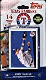 Topps MLB Baseball Cards 2009 Texas Rangers 14 Card Team Set