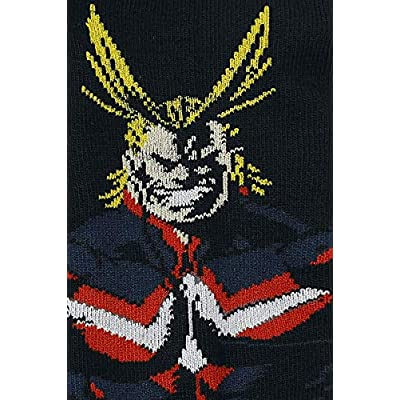 My Hero Academia 5 Pack Ankle Socks Standard, Multi, Size One Size at Women's Clothing store