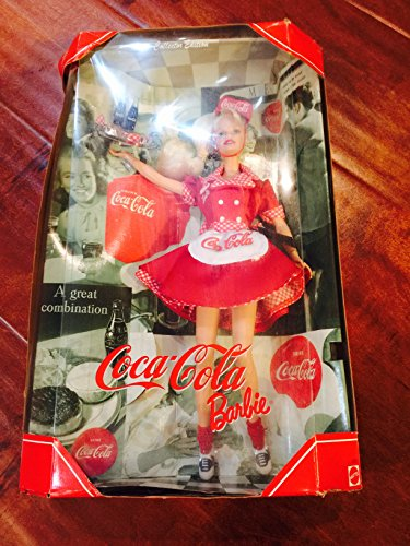 - Mattel Year 1998 Barbie Collector Edition: Coca-Cola Barbie as a Waitress.