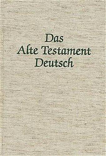 Das Alte Testament Deutsch (ATD), Tlbd.22/1, Das Buch Hesekiel (Ezechiel)