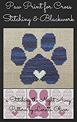 Penny's Paw of Love Pattern for Cross Stitch and Blackwork