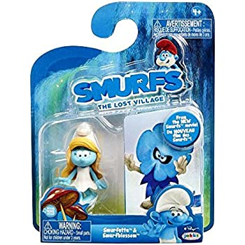 Smurfs The Lost Village Smurfette & Smurf Blossom Figure (2 Pack)