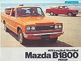 1978 Mazda B1800 Pickup Truck Sales Brochure