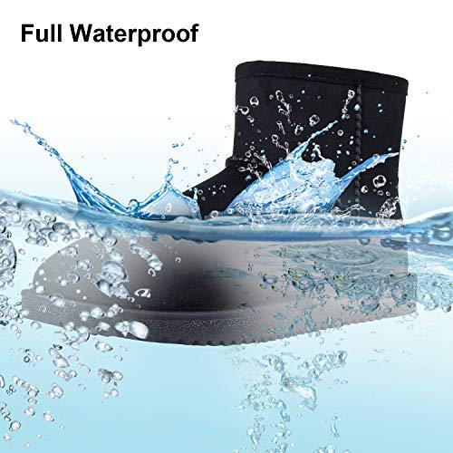 Women's Classic Short Snow Boots Full Waterproof Winter Boots ()
